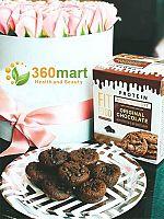 Bánh socola giảm cân hộp nhỏ