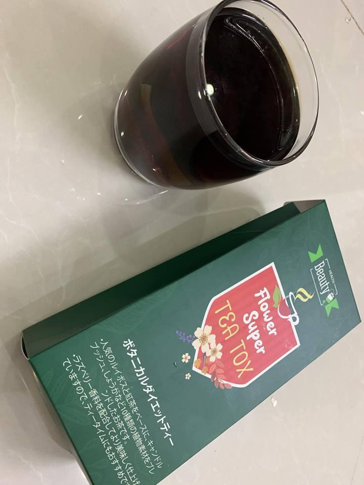 Trà giảm mỡ bụng Tea Tox được ưa chuộng nhất