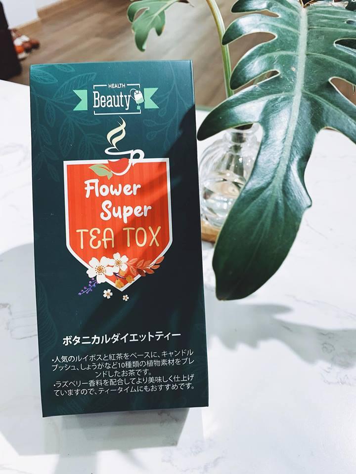 Trà hoa nhật Tea Tox giảm mỡ bụng bán chạy nhất