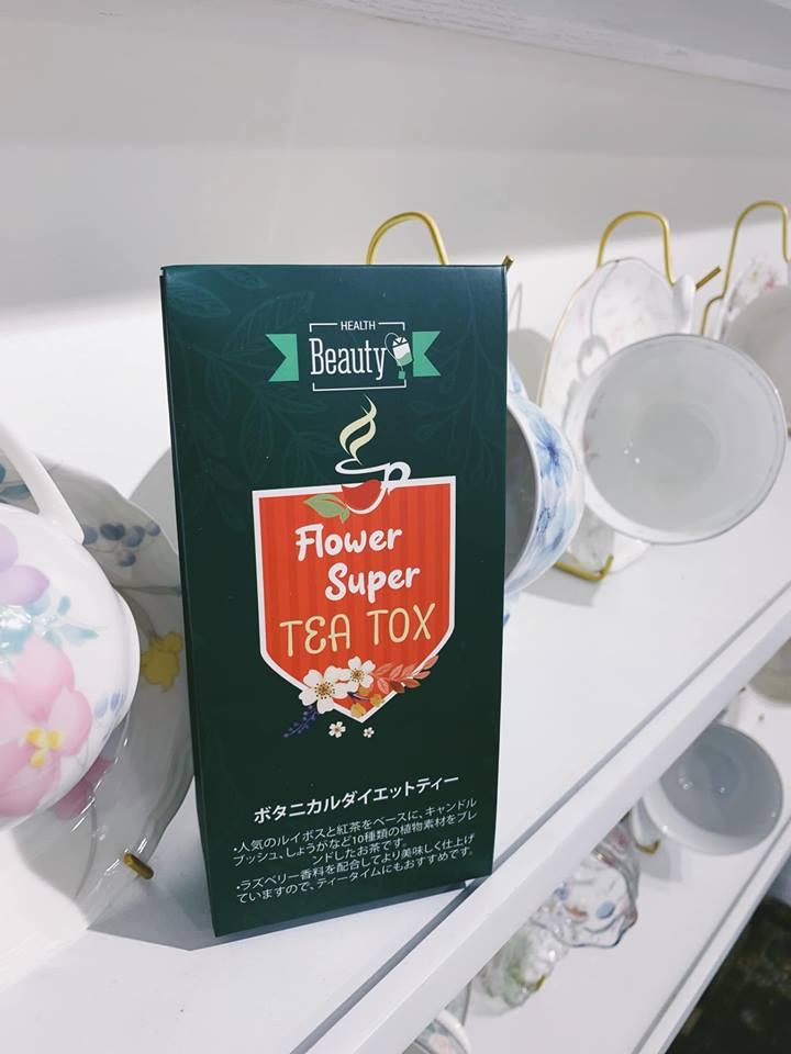 Trà hoa nhật Tea Tox giảm mỡ trên cả tuyệt vời